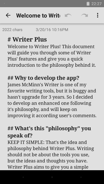 android-writing-writer-plus