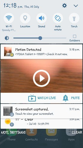 alfred-notification-movement