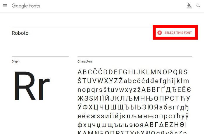Download How to Use The Google's Roboto Font Everywhere