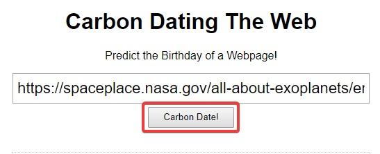 Website-Datum-Kohlenstoff