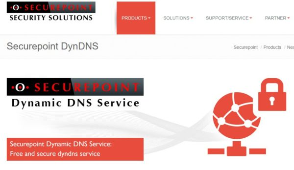 free-ddns-securepoint-dyndns