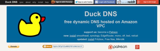 free-ddns-duck-dns
