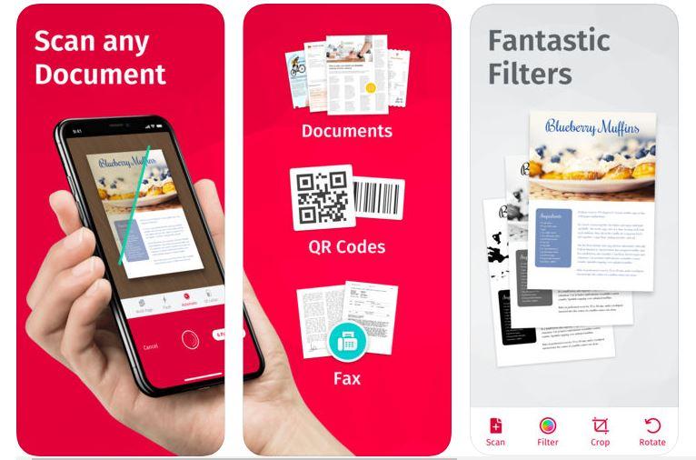 ScanPro für iPhone und iPad.