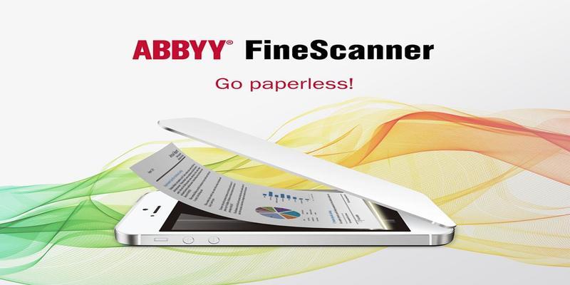 Die FineScanner-Anwendung für iOS.