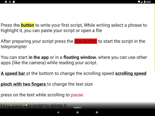 Android-Teleprompter-App-Nano-Teleprompter