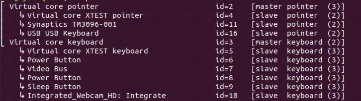 Fix Touchpad funktioniert nicht Linux Xinput