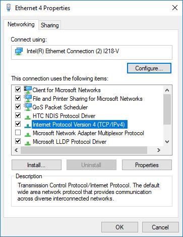 Windows Store funktioniert nicht DNS ändern