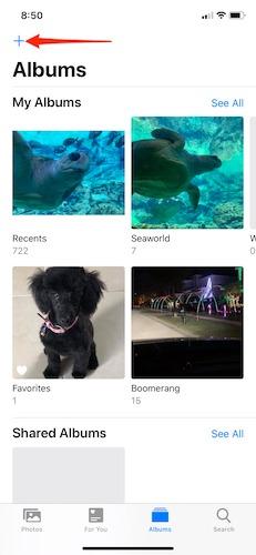 So organisieren Sie Fotos Iphone erstellen