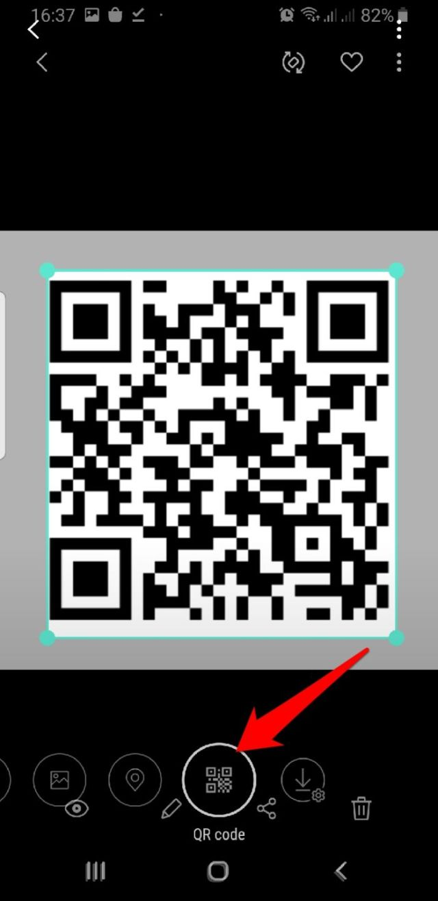 Read Qr Code Android Bixby Vision Qr Code
