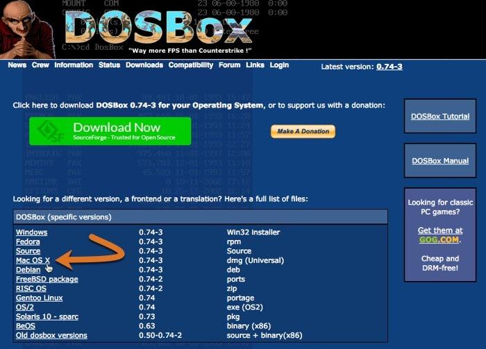 Dosbox Macos Download-Link