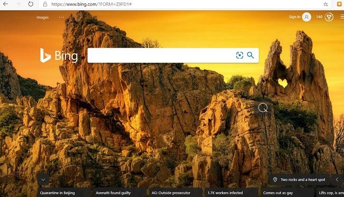 Ist Bing besser als Google Wallpapers