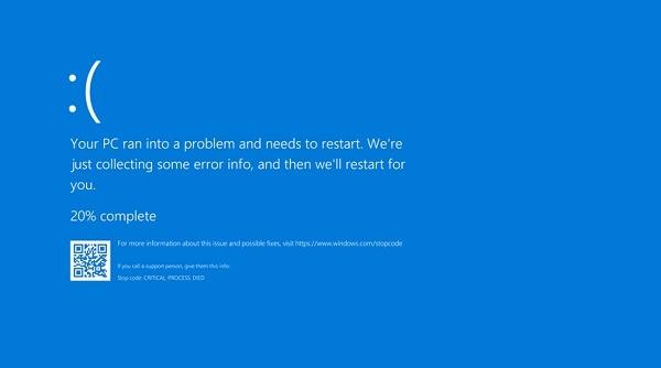 Wie Windows 10 1903 Update Chromium Bsod bricht