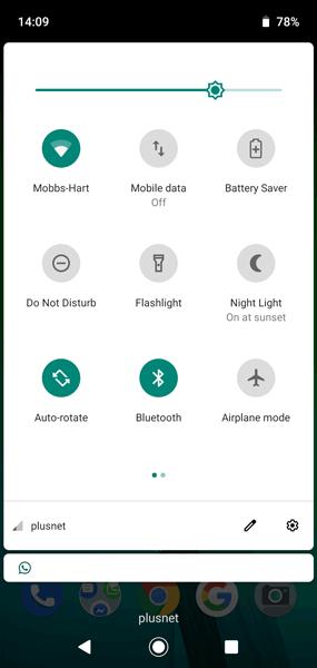 Schalten Sie die Taschenlampe für Android-Benachrichtigungen ein