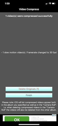 So komprimieren Sie Videos Iphone behalten oder löschen