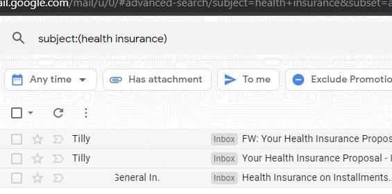 Sortieren Sie die Betreffergebnisse von Google Mail-Filtern