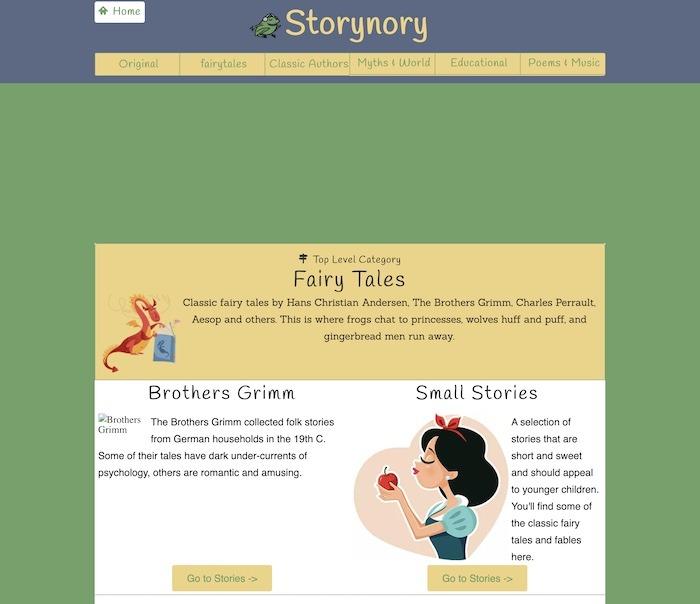 Beste Seiten Kostenlose Kinderbücher Storynory