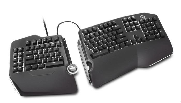 Ergonomische mechanische Tastatur Cloudnine