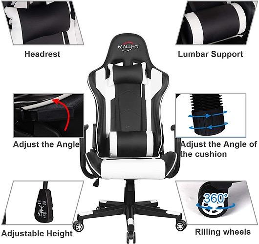 Deal Polar Aurora Gaming Stuhl Eigenschaften