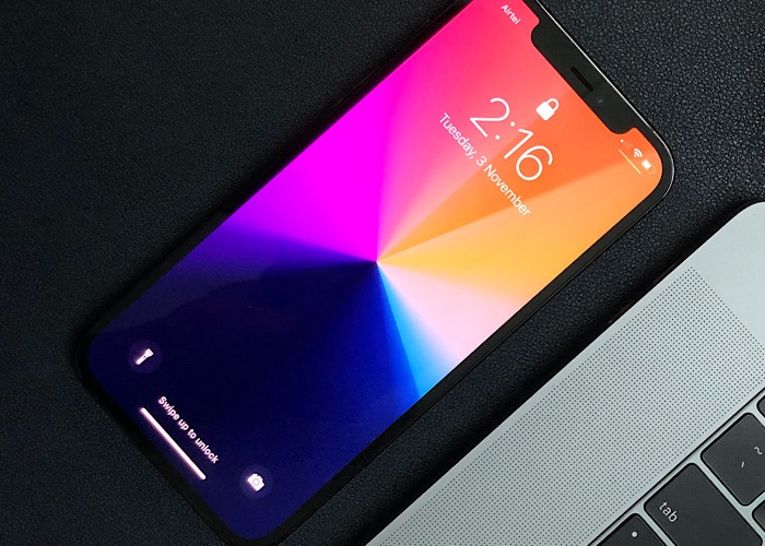 Nachrichten Iphone 12 Chip Lock Screen