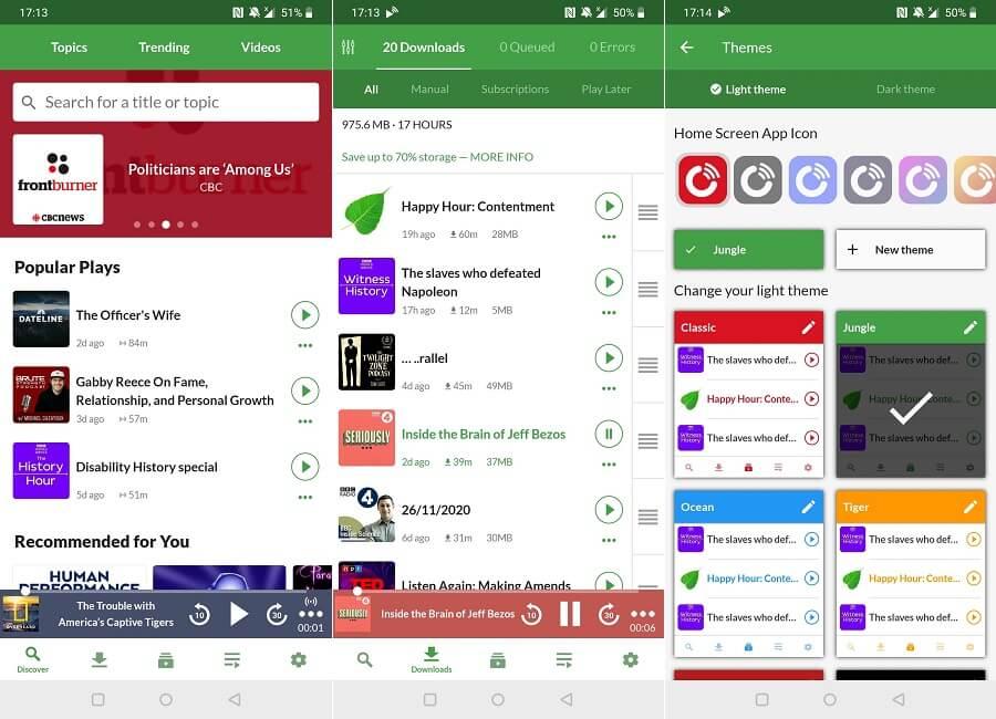 Beste Apps Offline Verwenden Sie Playerfm