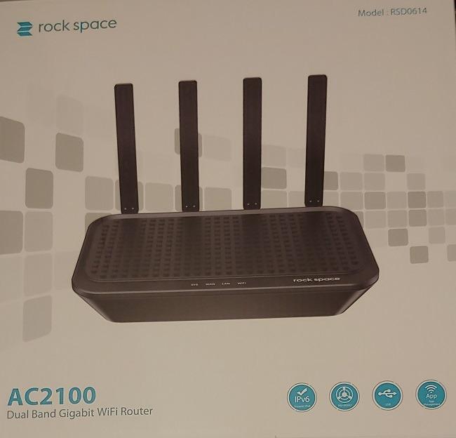 Rock Space Ac2100 WLAN-Router Übersicht