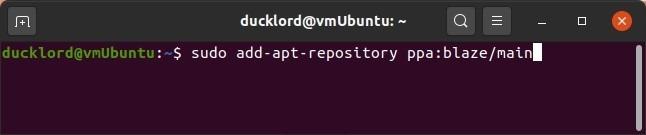 Einfache Crontab mit Zeit Add Apt Repository