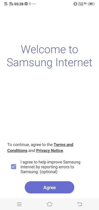 Uc Browser Alternative Samsung Internet