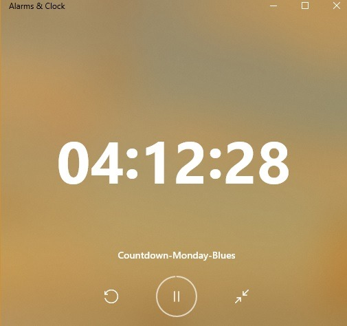 Windows 10-Alarmtimer aktiviert