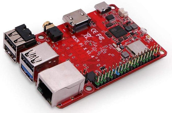 Beste Raspberry Pi Alternativen Rock Pi X Modell B.