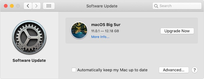 Mac läuft Slow Fix Software Update