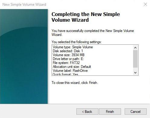 Formatieren von USB-Laufwerken in Win10 Diskman Einfacher Volume-Assistent Abschließen