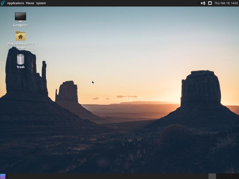 Ghostbsd Review Desktop