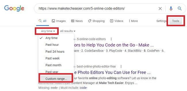 So finden Sie heraus, wann eine Webseite veröffentlicht wurde