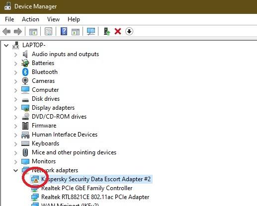 So beheben Sie den Fehler beim Ausfall des Treibers im Windows 10-Geräte-Manager