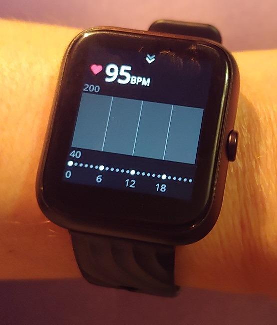 Virmee Tempo Vt3 Plus Smart Watch Bewertung Herz
