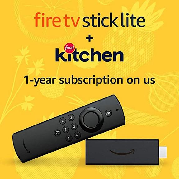 Feuer TV Stick Stick Lite Food Kitchen Bundle