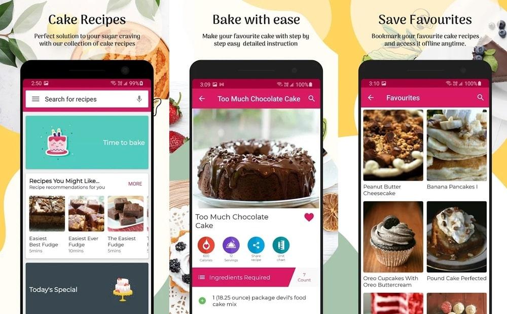 Kuchen Rezepte App