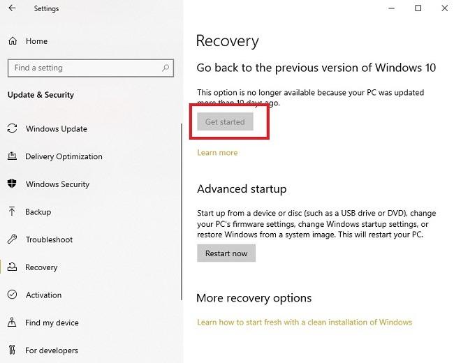 So beheben Sie Ctf Loader-Fehler in Windows 10 Recover