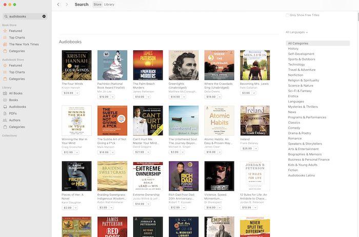 Beste hörbare Alternativen Apple Books