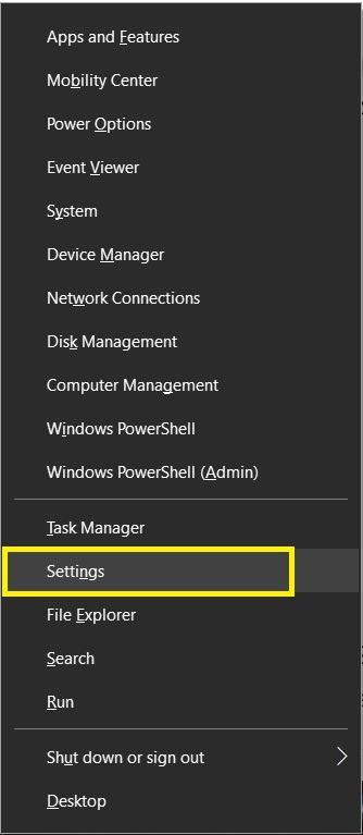 Einstellungen Windows 10 Aktivieren