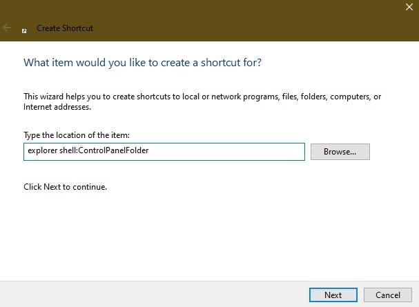 Möglichkeiten zum Öffnen der Systemsteuerung in Windows 10 Desktop1