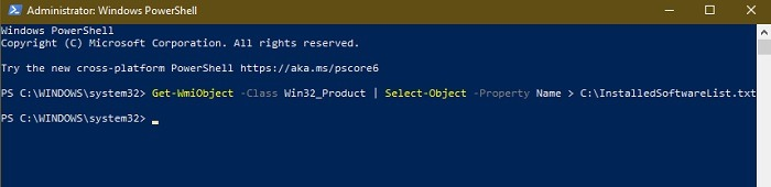 So erhalten Sie eine Liste aller auf einem Windows-System installierten Software Powershell