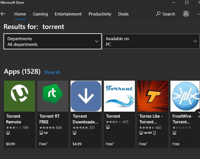 Windows sofort deinstallieren Torrent Store
