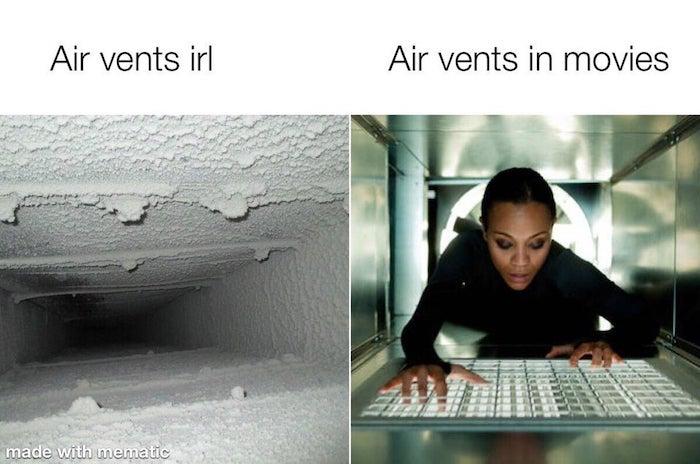 Lustige Internet Meme Airvents