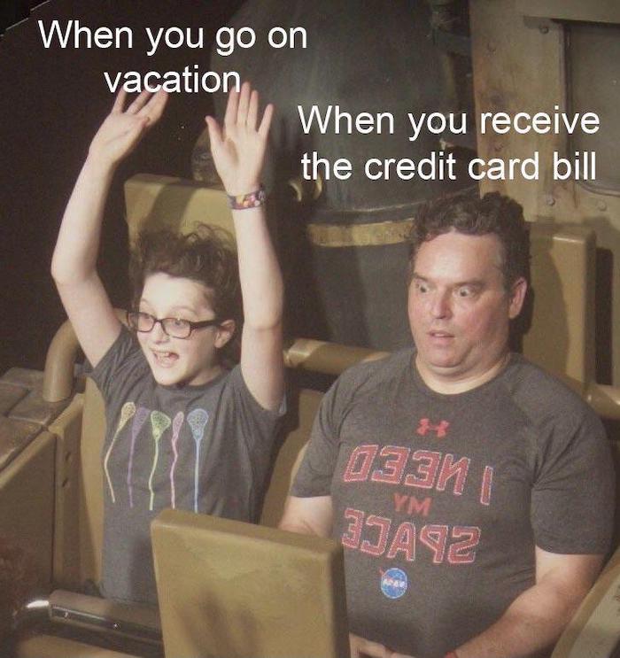 Lustige Internet Memes Urlaub