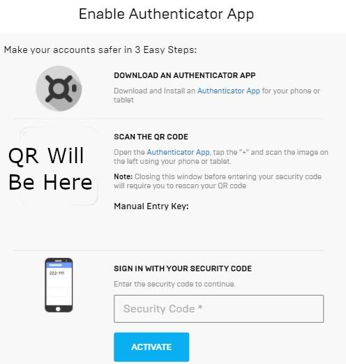 2fa In Fortnite Setup Authenticator 2fa