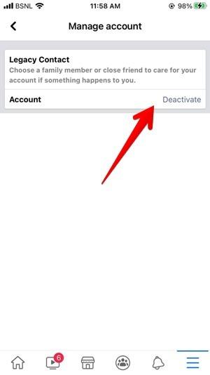 Facebook Iphone deaktivieren