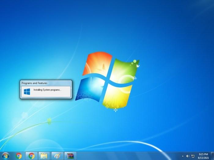Windows10 Theme Windows7 Transformation installieren