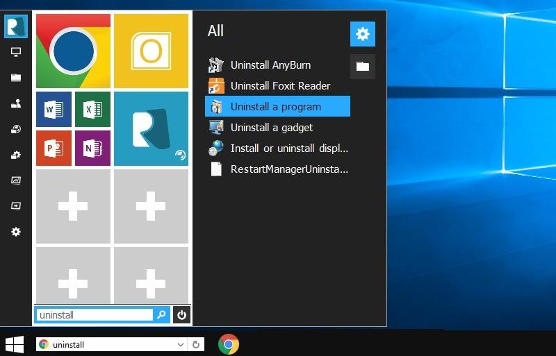 Windows10 Theme Windows7 Transformation Deinstallationsprogramm