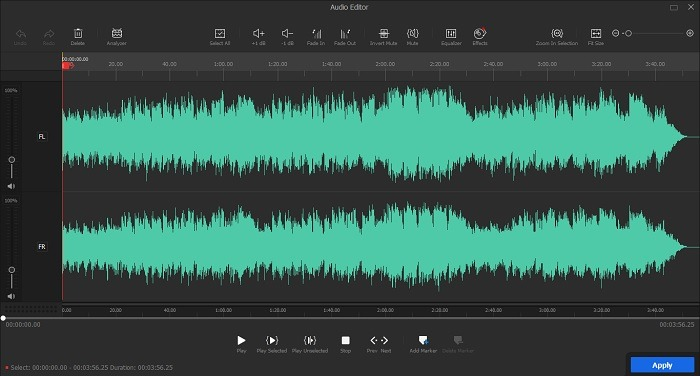 Videoproc Vlogger-Rezension Audio